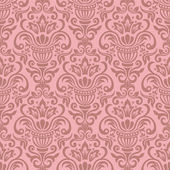 Seamless designer floral pattern — Stock Vector