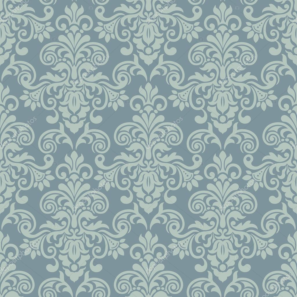 Damask seamless pattern for Baroque Pattern