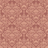 Vector damask seamless pattern element — Stock Vector