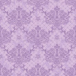 Stock Vector: Purple seamless floral damask Wallpaper
