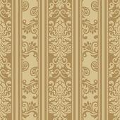 Seamless luxurious wallpaper — Stock Vector