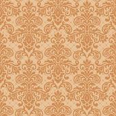 Seamless ornamental decorative pattern — Stock Vector