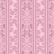 Seamless vintage pattern in pink — Stock Vector #35679849