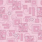 Seamless traditional vector wallpaper — Stock Vector