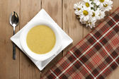 A bowl of soup — Stock Photo
