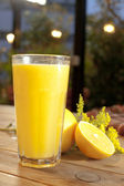 Mixed fruit juice — Stock Photo