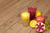 Mixed fruit juice — Stock Photo