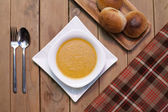 A bowl of soup — Stock Photo