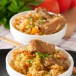 Traditional rice pilaf - Plov — Stock Photo #13179315
