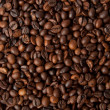 Stock Photo: Texture of brown coffee beans