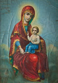 Orthodox Icon of the Mother of God — Stock Photo