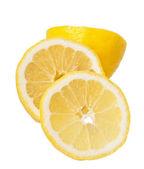 Lemon isolated on white — Stock Photo