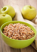 Buckwheat porridge — Stock Photo