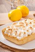 Lemon cheese cake — Stock Photo