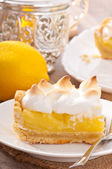 American lemon cake — Stock Photo