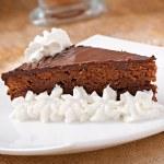 CHOCOLATE CAKE SACHER — Stock Photo #32609789
