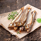 Smoked fish — Stock Photo