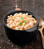 Boiled beans — Stock Photo