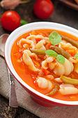 Sopa minestrone — Foto de Stock