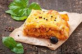 Klassieke lasagne — Stockfoto