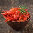 Boiled crawfishes — Stock Photo #50159877