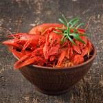 Boiled crawfishes — Stock Photo #50159877
