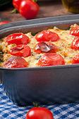Baked pudding — Stock Photo