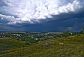 Antes de una tormenta de truenos — Foto de Stock