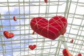 Huge hearts — Stock Photo