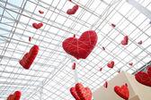 Huge hearts 2 — Stock Photo