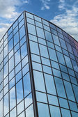 Steel and glass — Stock Photo