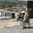 Armenian artist — Stock Photo