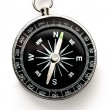 Compass on the white background — Stock Photo