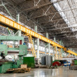 Machine shop of metallurgical works - Stockfoto