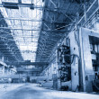 Machine shop of metallurgical works - Stock Photo