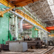 Machine shop of metallurgical works — Stock Photo