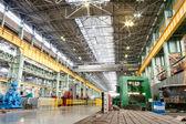 Maschinenwerkstatt metallurgischen werke — Stockfoto