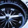 Compass on white background — стоковое фото #13496183
