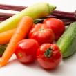 Set of fresh vegetables — Stock Photo #13496526