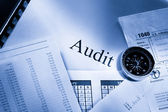 Fonctionnement budget, calendrier, boussole et vérification — Photo
