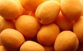 Heap of ripe apricots — Stock Photo