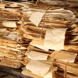 Paper documents stacked in archive — Stock Photo #23279786