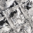 Ice cube background — Stock Photo