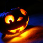Funny halloween pumpkin — Stock Photo #32416043