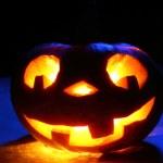 Funny halloween pumpkin — Stock Photo #32416175