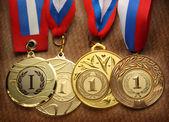 Metal medals — Stock Photo