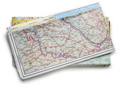 Road map — Stock Photo