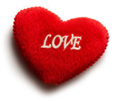 Red heart with love — Stock Photo
