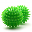 Two massage balls — Stock Photo