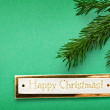 Happy Christmas background — Stock Photo